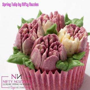 Sugar and Crumbs Sugar and Crumbs Nifty Nozzle -Spring Tulip-
