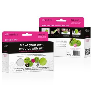 SilliCreations Sillicreations Make Your Own Silicone Moulds -150g-