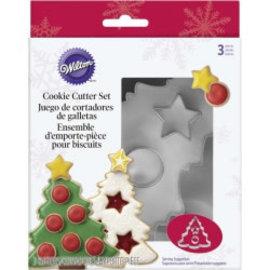 Wilton Wilton Christmas Tree Cookie Cutter Set/3