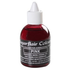sugarflair Sugarflair Airbrush Colouring -Pink- 60ml