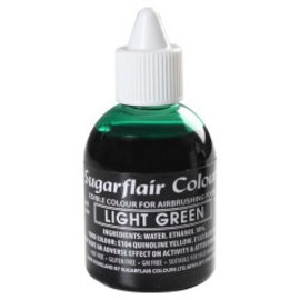 sugarflair Sugarflair Airbrush Colouring -Light Green- 60ml