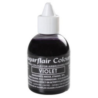 sugarflair Sugarflair Airbrush Colouring -Violet- 60ml