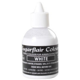 sugarflair Sugarflair Airbrush Colouring -White 60ml