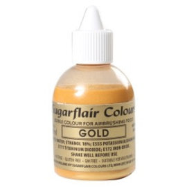 sugarflair Sugarflair Airbrush Colouring -Gold- 60ml