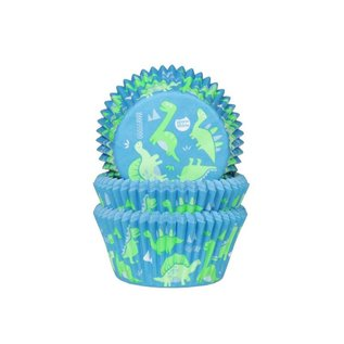 House of Marie HOM Baking Cups Dino's pk/24
