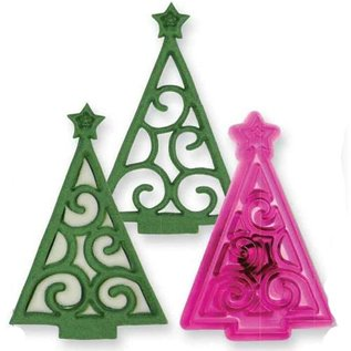 JEM JEM Christmas Scroll Tree Cutter
