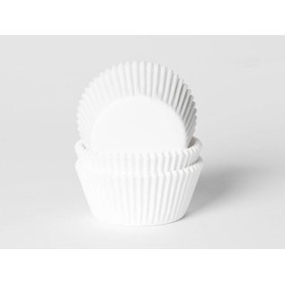 House of Marie HOM Baking Cups Wit- pk/24