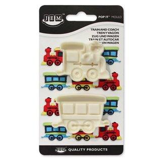 JEM JEM Pop It  Train & Coach/trein