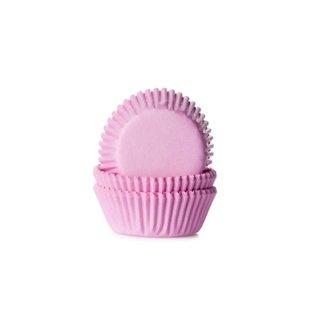 House of Marie HOM Mini Baking Cups Licht Roze - pk/24