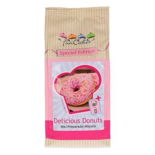 FunCakes FunCakes Mix voor Delicious Donuts 500g