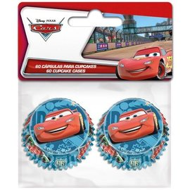 Mini Baking Cups Cars pk/60