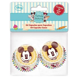 Mini Baking Cups Mickey pk/60