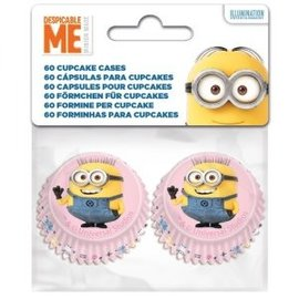 Mini Baking Cups Minions pk/60