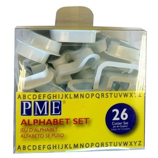 PME PME Alfabet Uitstekers Set/26