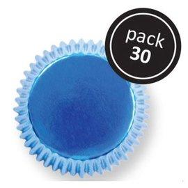 PME PME Baking Cups Blauw 30 stuks
