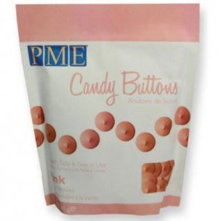 PME PME Candy Buttons Pink 340g
