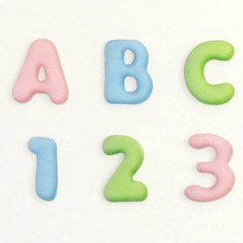 Katy Sue Katy Sue Mould Mini Domed Alphabet & Numbers