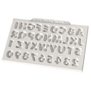 Katy Sue Katy Sue Mould Mini Domed Alphabet & Numbers