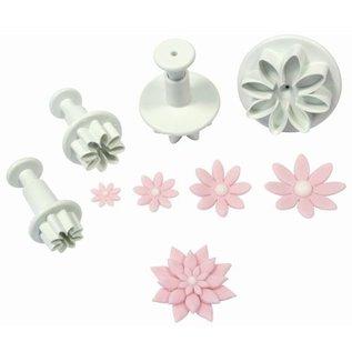 PME PME Daisy Marguerite/Margriet Plunger Cutter set/4