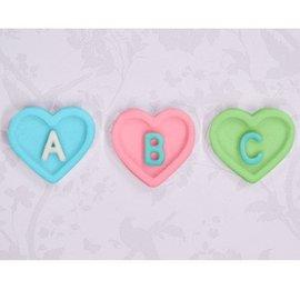 Katy Sue Katy Sue Mould Heart Alphabet