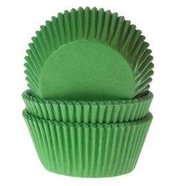 House of Marie HOM Baking cups Gras groen - pk/50
