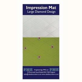 PME PME Impression Mat Diamond -Large