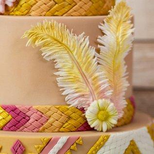 Karen Davies Siliconen Mould - Native Feathers