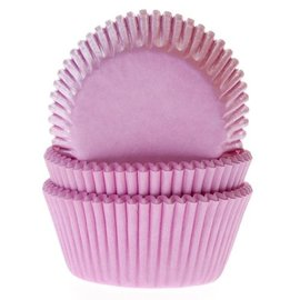 House of Marie HOM Baking cups Licht roze - pk/50