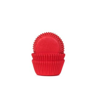 House of Marie HOM Mini Baking Cups Red Velvet - pk/24