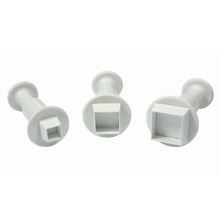 PME PME Miniature Square Plunger Cutter set/3