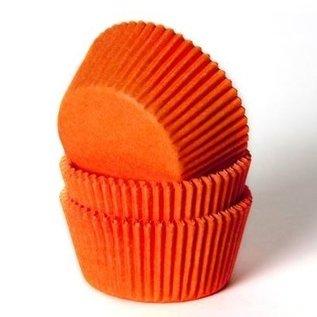 House of Marie HOM Baking cups Oranje - pk/50