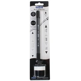 PME PME Brush n Fine Pen -Zwart-