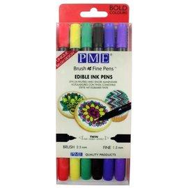 PME PME Brush n Fine Pen Set -Bold- pk/6