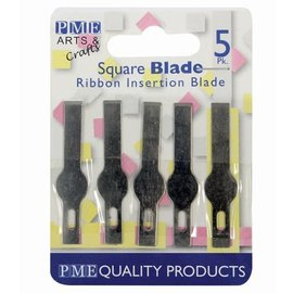 PME PME Spare Blades for Craft Knife-Ribbon Insertion Pk5
