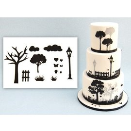 PatchWorkCutters Patchwork Cutter Countryside Silhouette Set