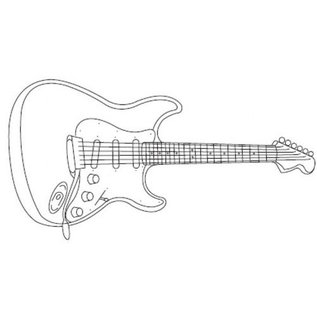 PatchWorkCutters Patchwork Cutter Electric Guitar