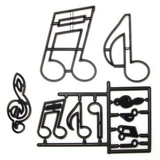 PatchWorkCutters Patchwork Cutter Extra Large Music Notes