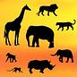 PatchWorkCutters Patchwork Cutter Safari Silhouette Set