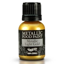 RainbowDust RD Metallic Food Paint Light Gold 20ml