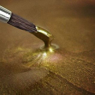 RainbowDust RD Metallic Food Paint Light Gold 20ml