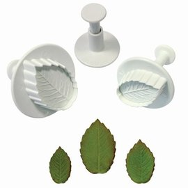 PME PME Rose/ Roos leaf plunger cutter set/3