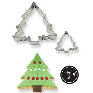 PME PME Cookie Cutter Christmas Tree set/2