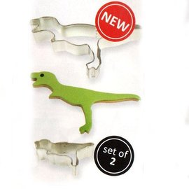 PME PME Cookie Cutter Dinosaurus set/2