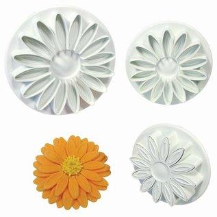 PME PME Sunflower/Daisy/Gerbera Plunger Cutter set/3