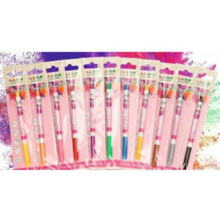FunCakes FunCakes Edible FunColours Brush Food Pen stift - set 12 kleuren #ikwilzeallemaal inclusief wit