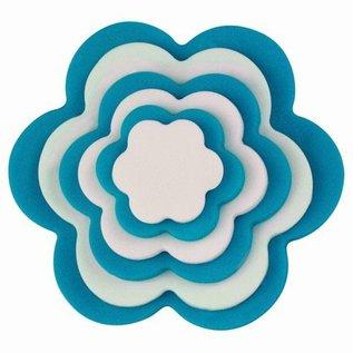 PME PME Plastic Cutter Flower Set/6