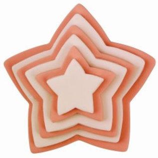 PME PME Plastic Cutter Star Set/6