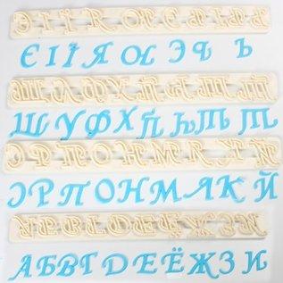 FMM FMM Tappit Russisch alfabet
