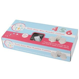 CakeStar Cake Star Push Easy Cutters Mini Numbers Set/10