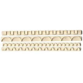 FMM FMM Straight Frill Cutters No.3